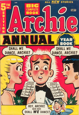 Archie Annual #5: rare in high grade. Click for values
