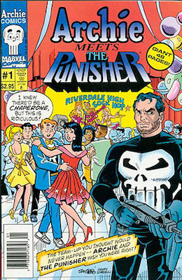 Archie Meets the Punisher (1994): Unlikely Crossover. Click for values