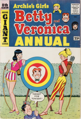 Archie's Girls Betty and Veronica Annual #8. Click for values