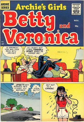 Archie's Girls Betty and Veronica #27. Click for current values.