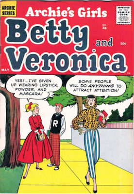 Archie's Girls Betty and Veronica #36. Click for current values.