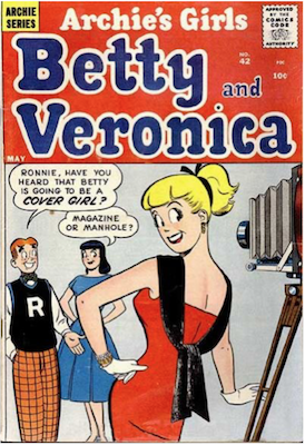 Archie's Girls Betty and Veronica #42. Click for current values.