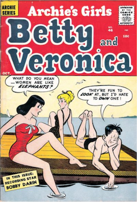 Archie's Girls Betty and Veronica #46. Click for current values.