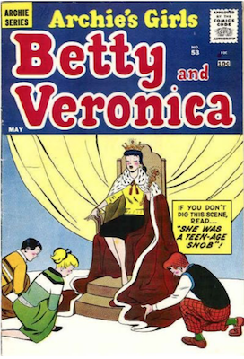 Archie's Girls Betty and Veronica #53. Click for current values.