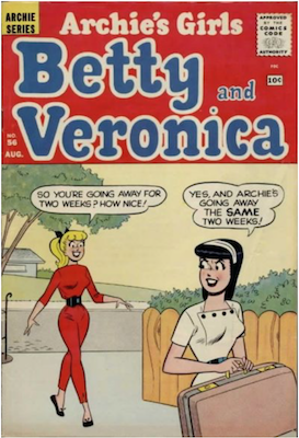 Archie's Girls Betty and Veronica #56. Click for current values.