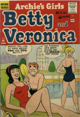 Archie's Girls Betty and Veronica #68. Click for current values.