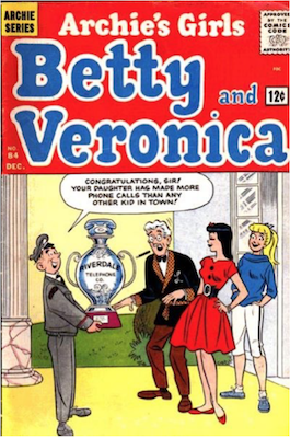 Archie's Girls Betty and Veronica #84. Click for current values.
