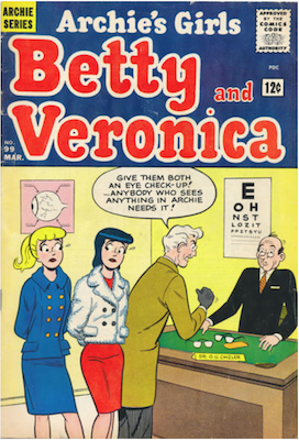 Archie's Girls Betty and Veronica #99. Click for current values.