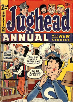 Archie's Pal Jughead Annual #2. Click for current values.