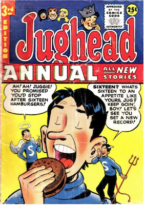 Archie's Pal Jughead Annual #3. Click for current values.