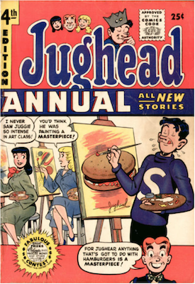 Archie's Pal Jughead Annual #4. Click for current values.