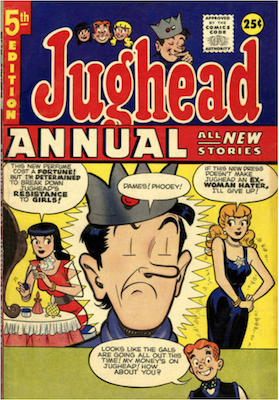 Archie's Pal Jughead Annual #5. Click for current values.