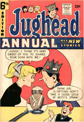 Archie's Pal Jughead Annual #6. Click for current values.