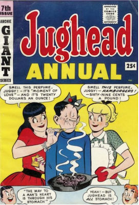 Archie's Pal Jughead Annual #7. Click for current values.