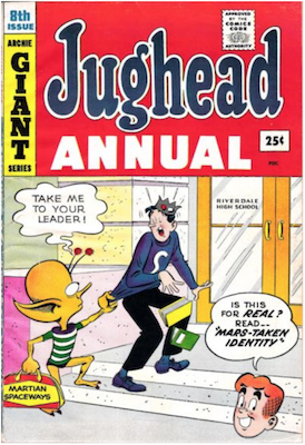 Archie's Pal Jughead Annual #8. Click for current values.
