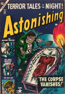 Astonishing! Precode Horror Comics Price Guide