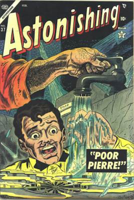 Astonishing Precode Horror Comics #37: Final Precode Issue. Click for current values.