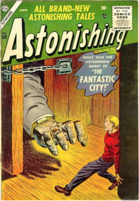 Astonishing #50. Click for current values.