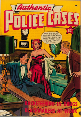 Authentic Police Cases #15: Baker cover art. Click for values