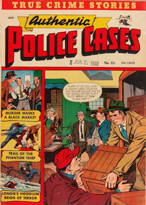 Authentic Police Cases #20. Click for values