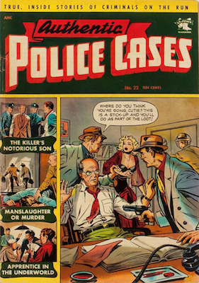 Authentic Police Cases #22. Click for values