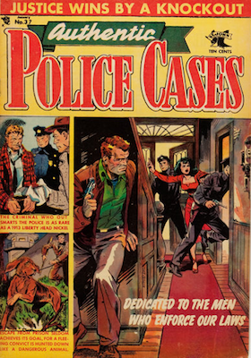 Authentic Police Case #37. Click for values