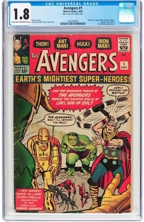 True, a CGC 1.8 is never a beauty, but a well-chosen example will have good eye appeal and cost you the same as that 1990 New Mutants #98. Wouldn't you rather own an Avengers #1?