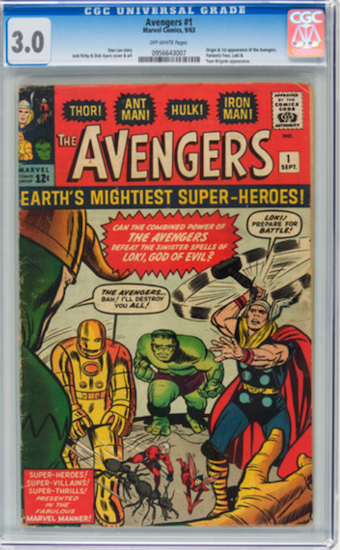 Wouldn't You Rather Own... Avengers #1 CGC 3.0?
