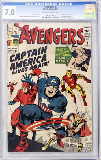 Wouldn't You Rather Own... Avengers #4 CGC 7.0?
