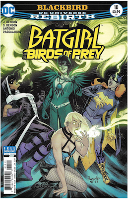 Batgirl and the Birds of Prey #10. Click for values.