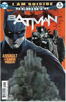 Batman #10 (2016). Click for values.