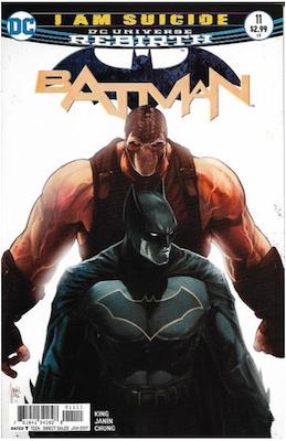Batman #11 (2016). Click for values.
