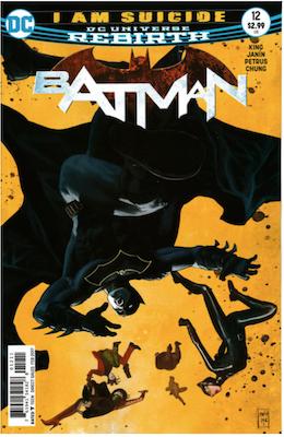 Batman #12 (2016). Click for values.