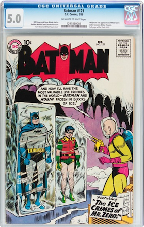 This Batman #121 is graded 5.0 by CGC. It's clean and respectable.