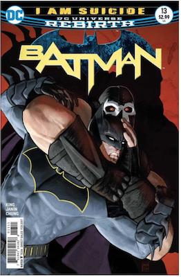 Batman #13 (2016). Click for values.