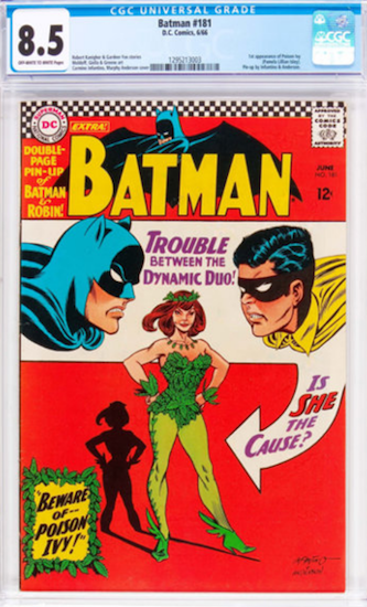 Batman #181 CGC 8.5: First appearance of Poison Ivy