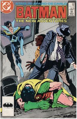 Batman #416. Click for values.
