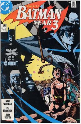 Batman #436. Click for values.