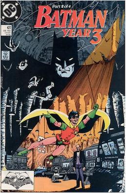 Batman #437. Click for values.