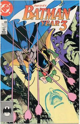 Batman #438. Click for values.
