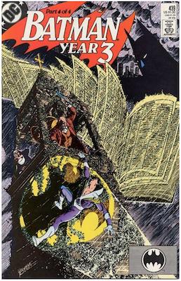 Batman #439. Click for values.