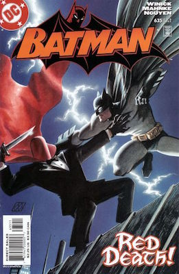 Batman #635 (2005) 1st Jason Todd as Red Hood. Click for values