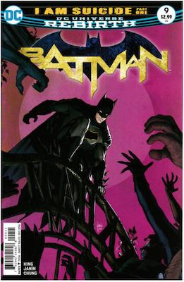 Batman #9 (2016). Click for values.