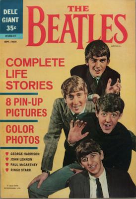 Beatles comic (1964) Dell Publishing: Scarce. Click for values