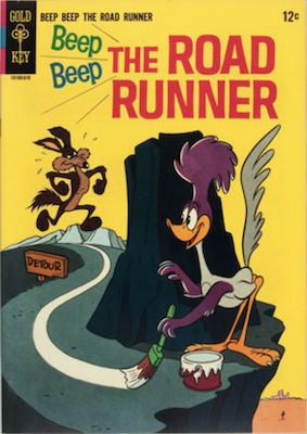Beep Beep the Road Runner #1, Gold Key comics. Click for values