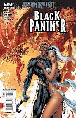 Black Panther v5 #5, Shuri Becomes Black Panther. Click for values