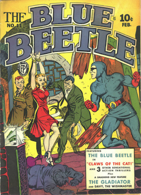 The Blue Beetle #11. Click for current values.