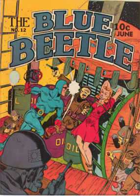 The Blue Beetle #12. Click for current values.