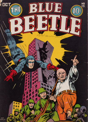 The Blue Beetle #15. Click for current values.
