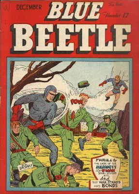 The Blue Beetle #17. Click for current values.